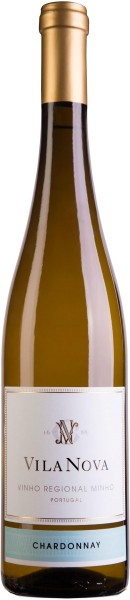 Vila Nova Vinho Verde Chardonnay - beschädigtes Etikett