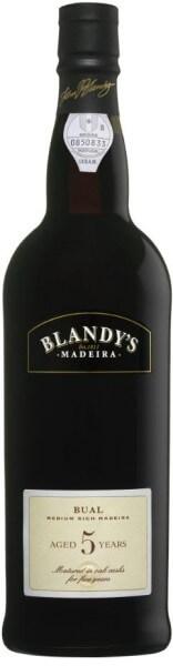 Blandys Madeira 5 Year Old Bual medium sweet