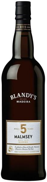 Blandys Madeira Malmsey Rich - 5 year old
