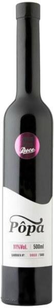 Vinho Doce Tinto 0.5 Liter - beschädigtes Etikett