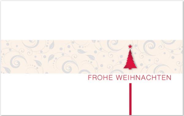 """Karte """"Frohe Weihnachten"""""""