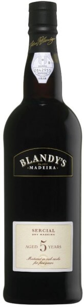 Blandys Madeira, 5 Year Old Sercial Dry